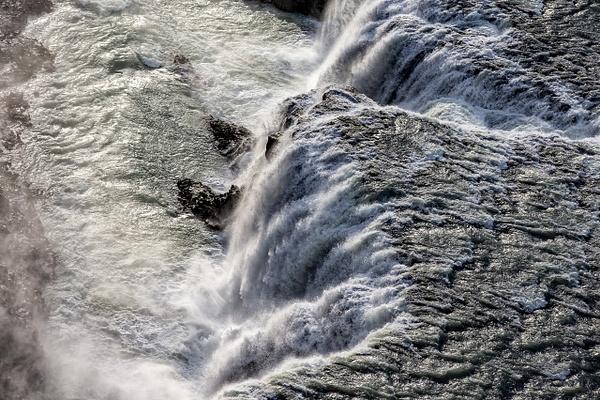 70. Gullfoss - ICELAND - Aerial Views - François Scheffen Photography