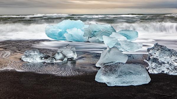 BL2P1833x Breiðamerkursandur - ICELAND - October 2012 - François Scheffen Photography