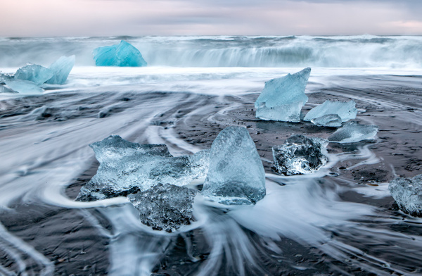 BL2P1989x Breiðamerkursandur - ICELAND - October 2012 - François Scheffen Photography