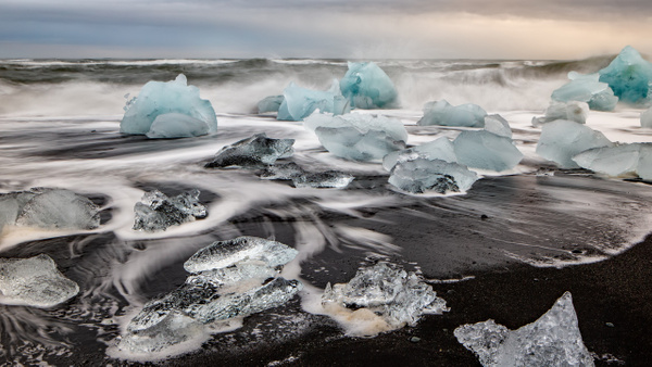 BL2P1898x Breiðamerkursandur - ICELAND - October 2012 - François Scheffen Photography