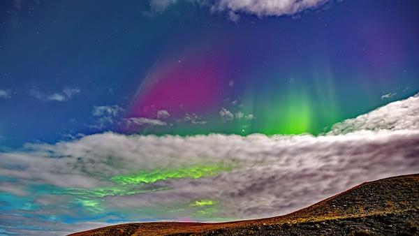 BL2P2454y Aurora borealis Jökulsárlón - ICELAND - October 2012 - François Scheffen Photography