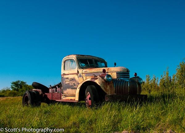 Good Old Chevy Truck - Best Photos - PhotographyScott