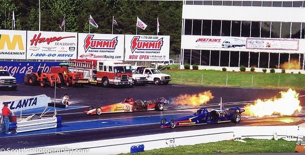 Jet Cars at Atlanta Dragway - Motorsports - PhotographyScott