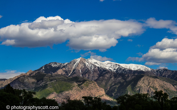 Wasatch Mountain Range - Utah - Photography Scott