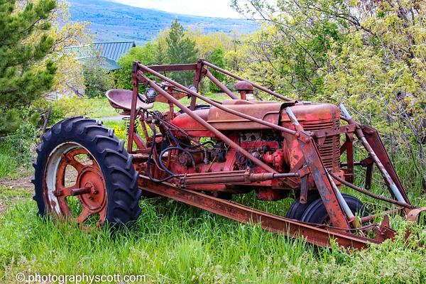 Old Farm Tractor In Eden, Utah - Home - PhotographyScott
