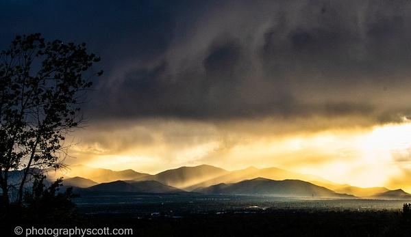 Thunderstorm Meets Sunset - Utah - Photography Scott