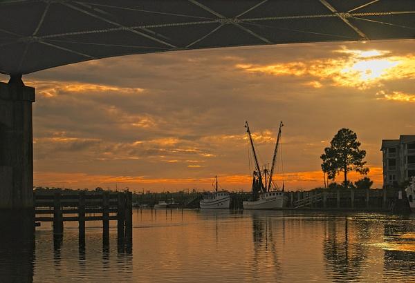 Darien River Sunset 2 - Shore Landscapes - Phil Mason Photography