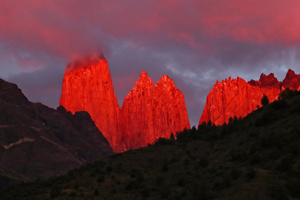 Towers on Fire - Landscapes - Phil Mason Photography