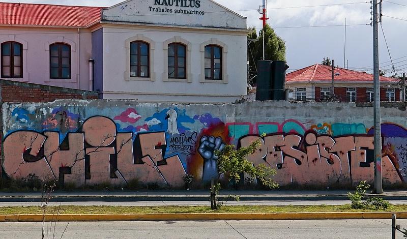 Protest Sign Punta Arenas
