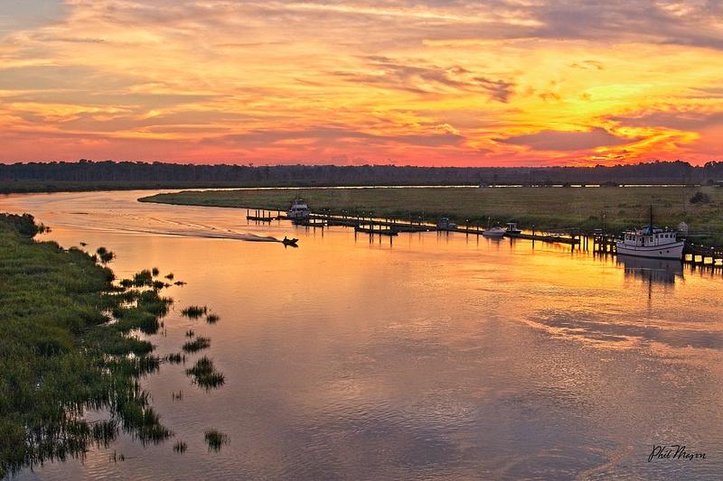 Darien Sunset