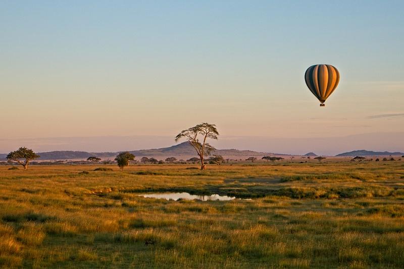 Hot Air Balloon Serengeti 1