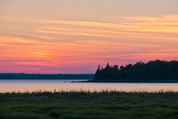 Maine Sunset - Landscapes - Phil Mason Photography