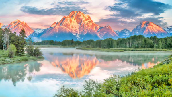 Grand Tetons Oxbow Bend - Order Here - Klevens Photography