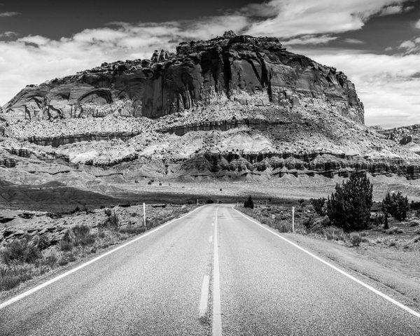 BW Capitol Reef - National Parks - Klevens Photography