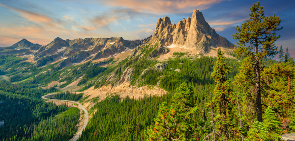 Washington Pass Overlook - National Parks - Klevens Photography