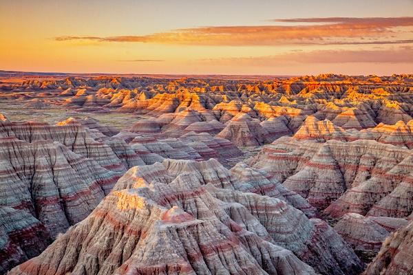 Badlands Sunrise - National Parks - Klevens Photography
