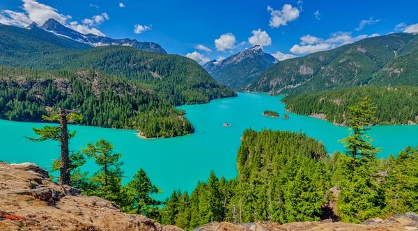 Diablo Lake Dream - National Parks - Klevens Photography