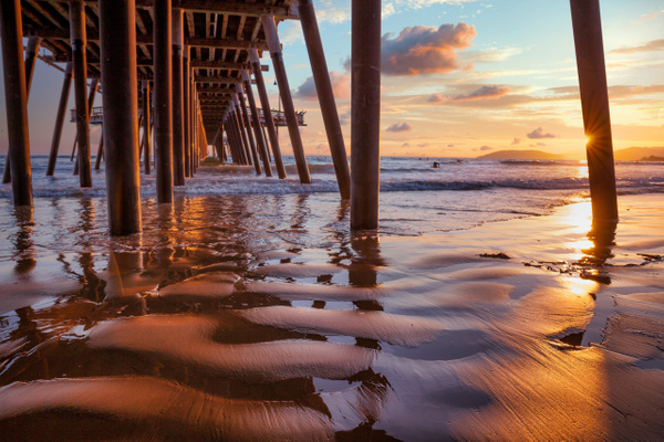 Pismo Pier - Home - Klevens Photography