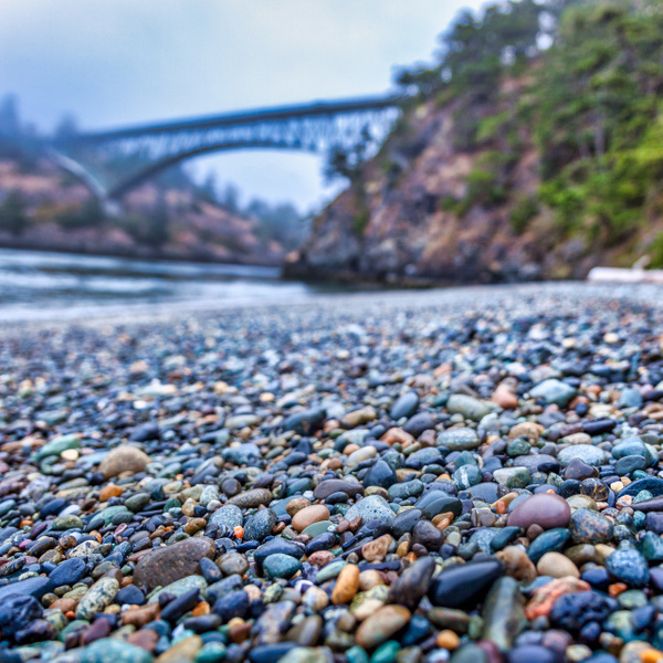 Deception Pass Rocky Perspective - Beachscapes - Klevens Photography