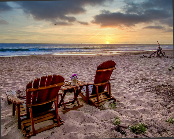 Beachscape Front Row Seats - Beachscapes - Klevens Photography