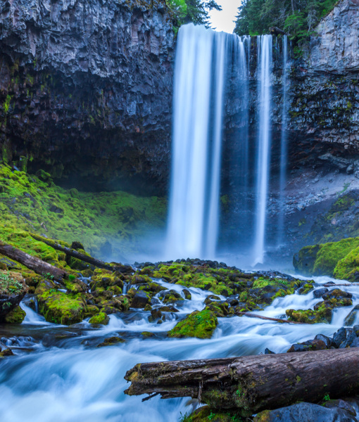 Tamanawas Falls - Order Here - Klevens Photography