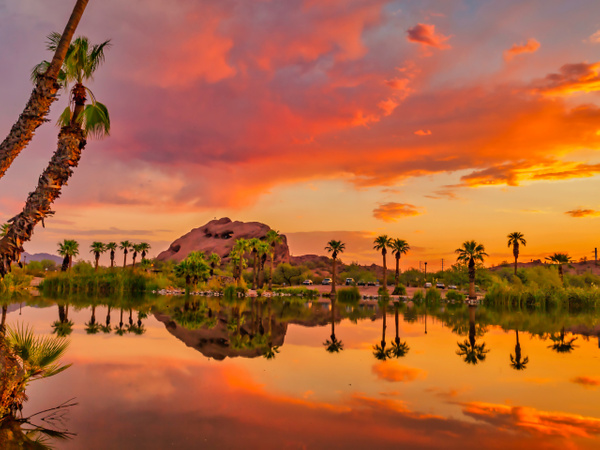 Arizona Sunrise - Naturescapes - Klevens Photography
