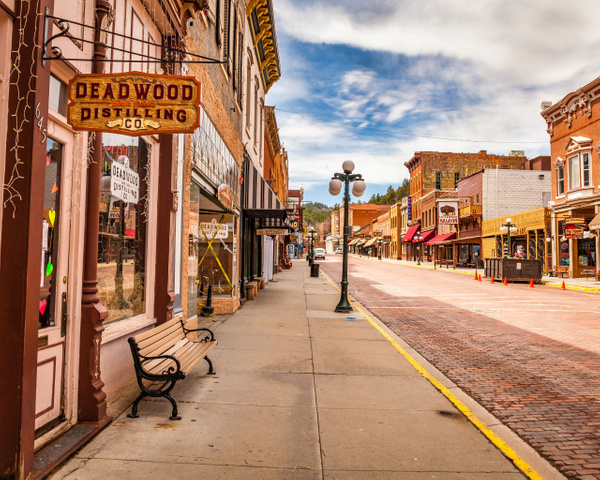 Downtown Deadwood - City Life - Klevens Photography