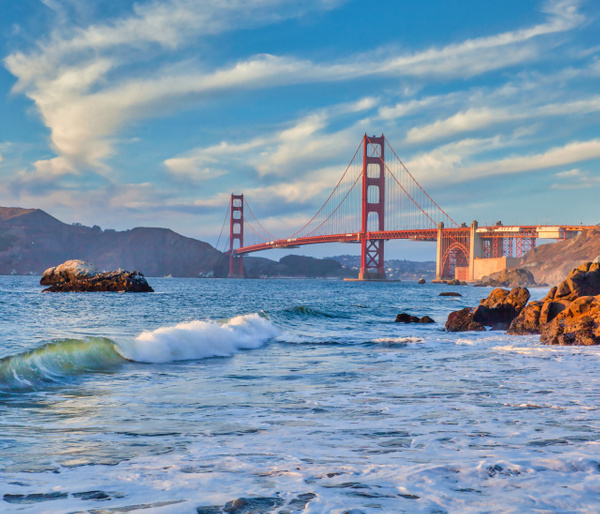 Classic Golden Gate View - Home - Klevens Photography