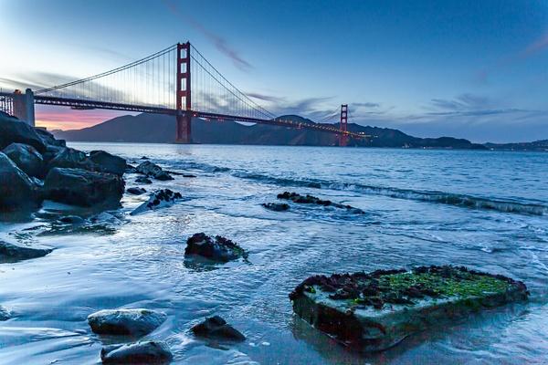 Golden Gate Dusk - Order Here - Klevens Photography