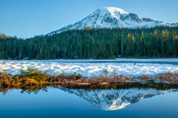 Mt Rainier Morning - Order Here - Klevens Photography