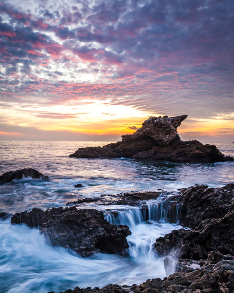 Arch Rock Sunset - Home - Klevens Photography