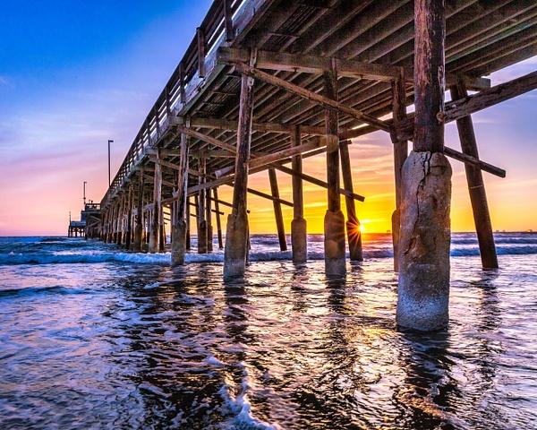 Newport Pier Sunset - Home - Klevens Photography