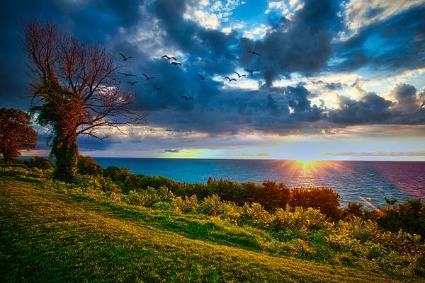 Lake Michigan Sunsets - Home - Lost Creek Lake Photography