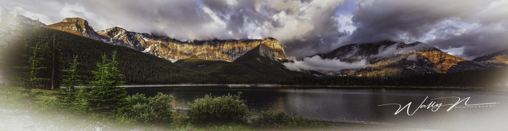 Upper Kananaskis Lake-Panorama-1