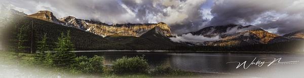 Upper Kananaskis Lake-Panorama-1 - Home - Walter Nussbaumer Photography