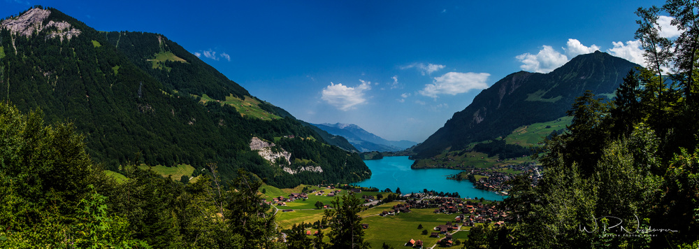 Lake Lungern, Obwalden Switzerland