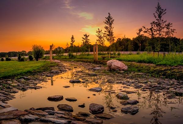 Harderwijk sunset - Landscape - Michel Voogd Photography