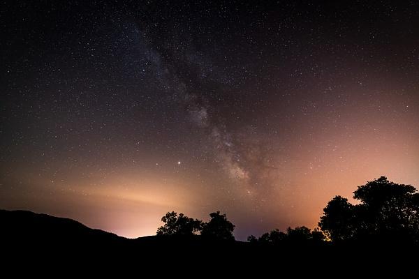 Milky Way in France - Landscape - Michel Voogd Photography