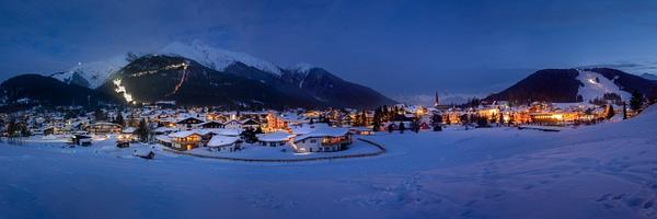 Seefeld in winter - Landscape - Michel Voogd Photography