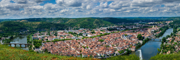 Cahors panorama - Cityscape - Michel Voogd Photography