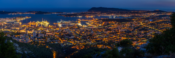 Toulon by night - Cityscape - Michel Voogd Photography