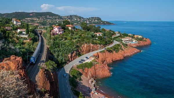 Le Trayas train - Travel - Michel Voogd Photography