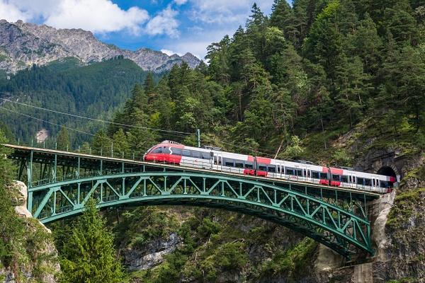 train in the Schlossbachklamm - Travel - Michel Voogd Photography