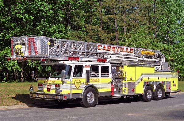 Ladder Cassville - Emergency Vehicles - Michel Voogd Photography