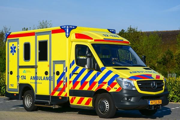 Ambulance Rotterdam - Emergency Vehicles - Michel Voogd Photography