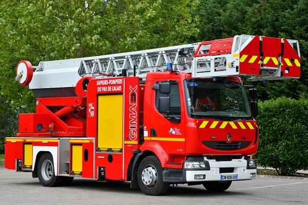 Ladder Saint Omer - Emergency Vehicles - Michel Voogd Photography