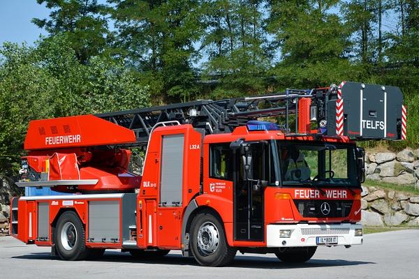 Ladder Telfs - Emergency Vehicles - Michel Voogd Photography
