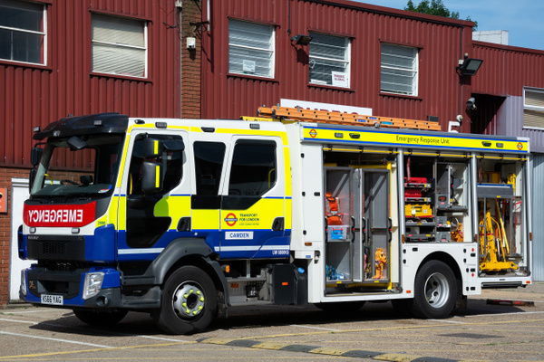 Rescue London Underground - Emergency Vehicles - Michel Voogd Photography