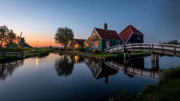 Zaanse Schans - Landscape - Michel Voogd Photography