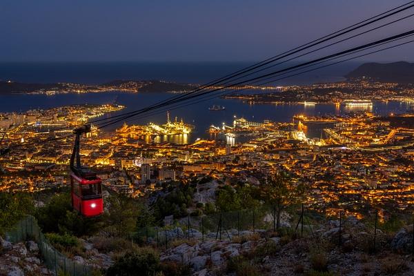 Toulon cablecar - Cityscape - Michel Voogd Photography